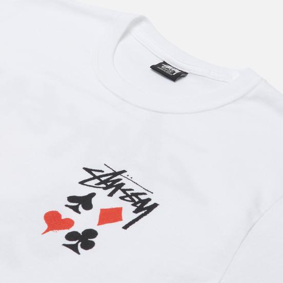 Мужская футболка Stussy Full Deck 2 White