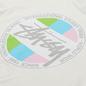 Мужская футболка Stussy Classic Dot Pigment Dyed Natural фото - 2