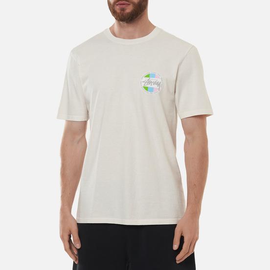 Мужская футболка Stussy Classic Dot Pigment Dyed Natural