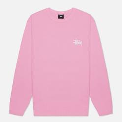 Мужская толстовка Stussy Basic Stussy Pink