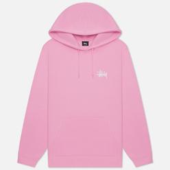 Мужская толстовка Stussy Basic Hoodie Pink