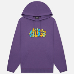 Мужская толстовка Stussy Colorado Hoodie Purple