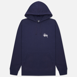 Мужская толстовка Stussy Basic Stussy Signature Logo Hoodie Navy
