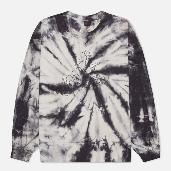 Женская толстовка Levi's Pai Tie-Dye Light Iris Obsidian