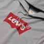 Мужская толстовка Levi's Graphic Hoodie Midtone Heather Grey фото - 1