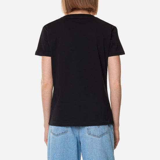 Женская футболка Alpha Industries New Basic Black