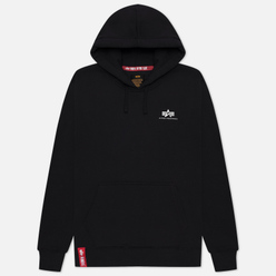 Мужская толстовка Alpha Industries Basic Small Logo Hoody Black