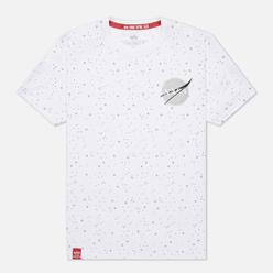 Мужская футболка Alpha Industries NASA Tape White