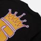 Мужской лонгслив Stussy S Crown Black фото - 2