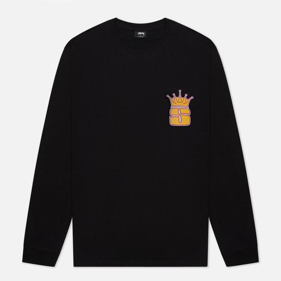 Мужской лонгслив Stussy S Crown Black