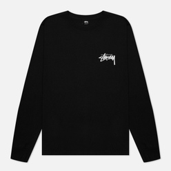 Мужской лонгслив Stussy Peace And Love Black