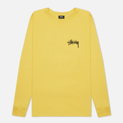 Мужской лонгслив Stussy Peace And Love Lemon