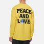 Мужской лонгслив Stussy Peace And Love Lemon фото - 4