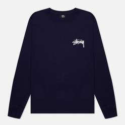 Мужской лонгслив Stussy Peace And Love Navy