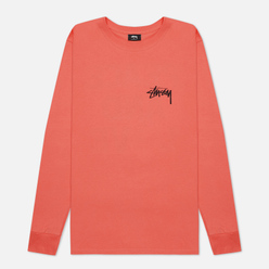 Мужской лонгслив Stussy Peace And Love Pale Red
