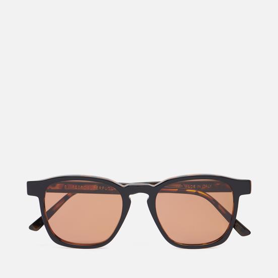 Солнцезащитные очки RETROSUPERFUTURE Unico Havana Black Top