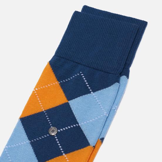 Носки Burlington Manchester Navy/Blue/Orange