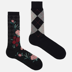 Комплект носков Burlington 2-Pack Gift Black/Red