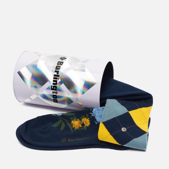Комплект носков Burlington 2-Pack Gift Navy/Navy