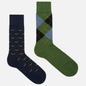 Комплект носков Burlington 2-Pack Gift Navy/Green фото - 0