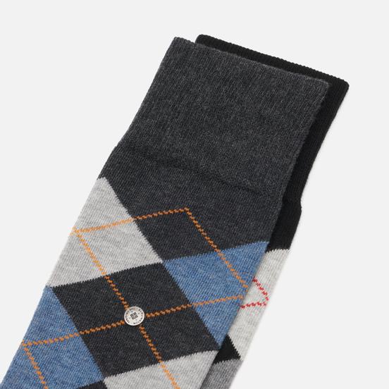 Комплект носков Burlington Basic 2-Pack Black/Violet