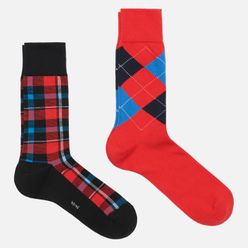 Комплект носков Burlington Fashion 2-Pack Black/Red