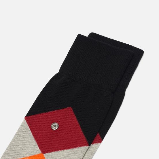 Носки Burlington Clyde Black/Red/Orange