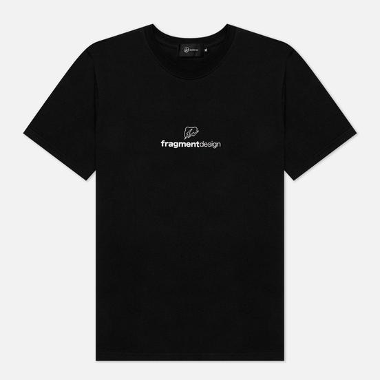 Мужская футболка Medicom Toy x fragmentdesign 2020 Logo Black