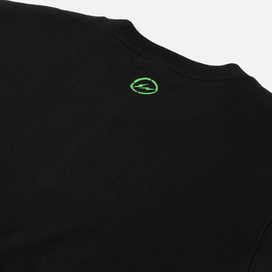 Мужская футболка Medicom Toy x fragmentdesign 2020 Spray Logo Black
