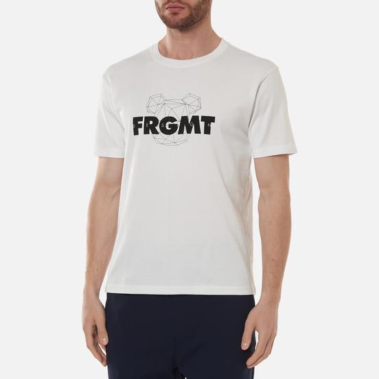 Мужская футболка Medicom Toy x fragmentdesign 2020 Spray Logo White