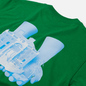 Мужская футболка Alltimers Good Hands Kelly Green фото - 2