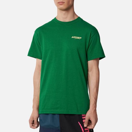 Мужская футболка Alltimers Good Hands Kelly Green