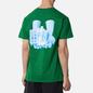 Мужская футболка Alltimers Good Hands Kelly Green фото - 4