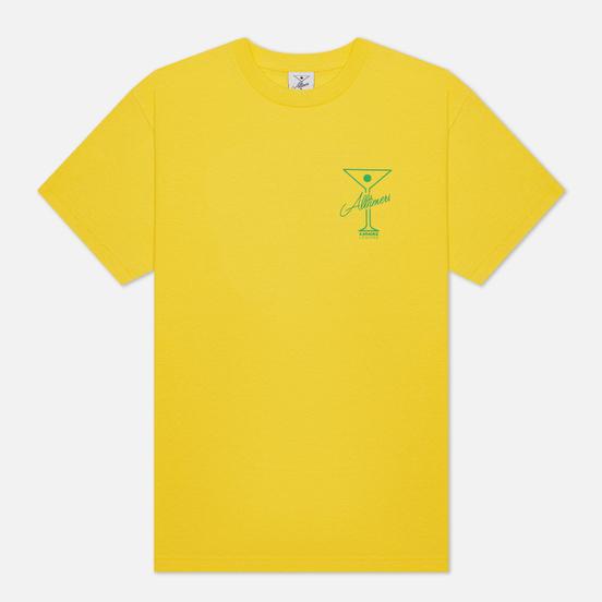 Мужская футболка Alltimers Karaoke Yellow