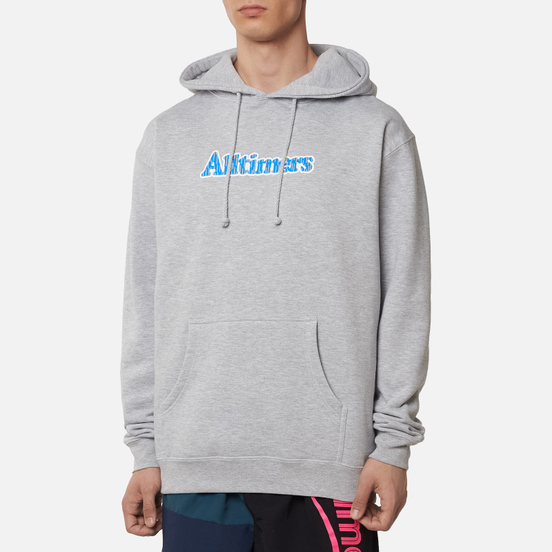 Мужская толстовка Alltimers Rain Camo Hoodie Heather Grey