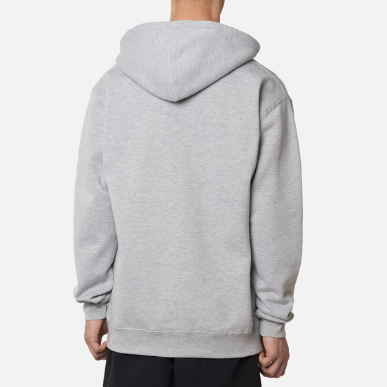 Мужская толстовка Alltimers Big Fader Hoodie Heather Grey
