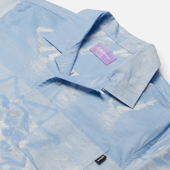 Мужская рубашка Alltimers Sync Up Button Up Blue