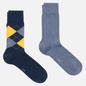 Комплект носков Burlington Everyday 2-Pack Navy/Blue фото - 0