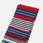 Носки Burlington Stripe Pattern Gray/Blue/Red фото - 1