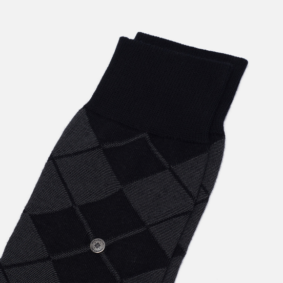 Носки Burlington Bolton Black/Grey