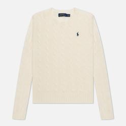 Женский свитер Polo Ralph Lauren Julianna Classic Crew Neck Cream
