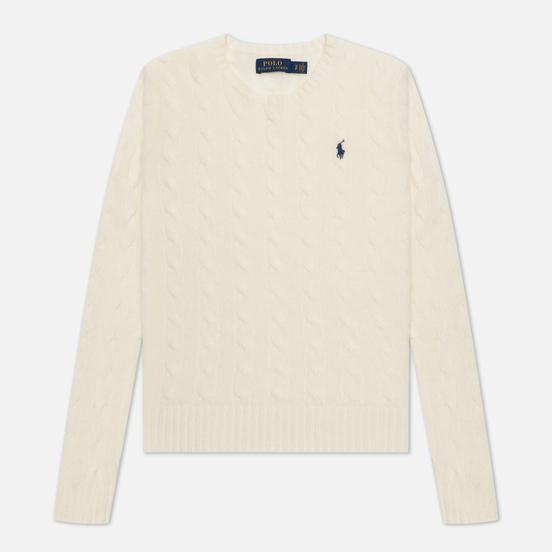 Женский свитер Polo Ralph Lauren Julianna Classic Crew Neck Cream