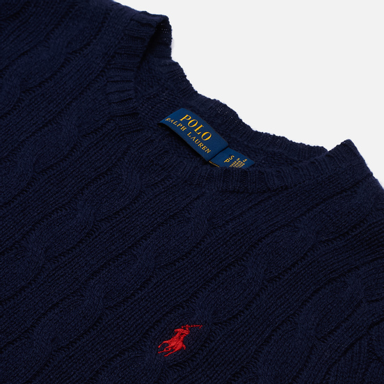 Женский свитер Polo Ralph Lauren Julianna Classic Crew Neck Hunter Navy