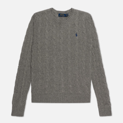 Женский свитер Polo Ralph Lauren Julianna Classic Crew Neck Fawn Grey Heather