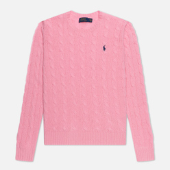 Женский свитер Polo Ralph Lauren Julianna Classic Crew Neck Course Pink
