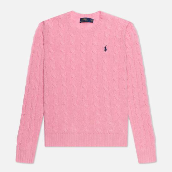 Женский свитер Polo Ralph Lauren Julianna Classic Crew Neck Course Pink