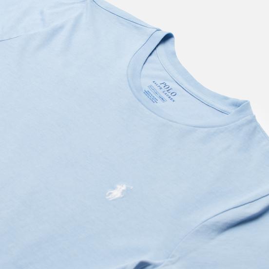 Женская футболка Polo Ralph Lauren Embroidered Logo 30/1 Cotton Jersey Estate Blue