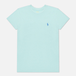 Женская футболка Polo Ralph Lauren Embroidered Logo 30/1 Cotton Jersey Parakeet