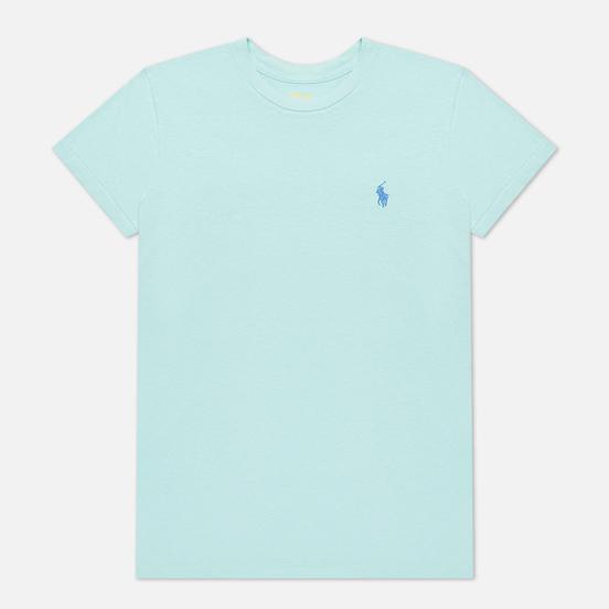 Женская футболка Polo Ralph Lauren Embroidered Logo 30/1 Cotton Jersey Parakeet