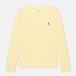 Женский лонгслив Polo Ralph Lauren Crew Neck 30/1 Cotton Jersey Banana Peel